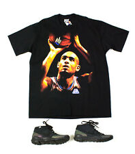 🔥 FILA 🔥 NWT vintage GRANT HILL Black Cotton T-shirt, Made in U.S.A., SIZE XL