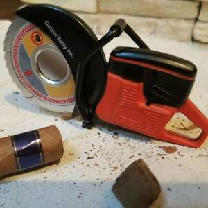 Gettin Salty Firefighter Partner Saw Cigar Cutter - Firefighter Gift