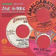 JOE GIBBS ANTHOLOGY 1967-1979 - LOVE OF THE COMMON PEOPLE 45 TRACK 2 CD SET NEW