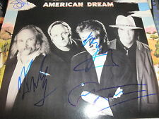 CROSBY STILLS NASH & YOUNG SIGNED LP BY ALL 4 PROOF! CSNY NEIL YOUNG RARE CROSBY