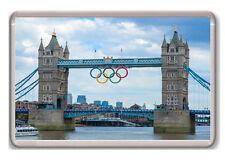 LONDON 2012 BRIDGE OLYMPICS FRIDGE MAGNET SOUVENIR