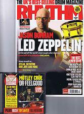 JASON BONHAM - LED ZEPPELIN / ROBERT WYATTRhythm + CD  December2007