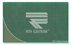 ROTH ELEKTRONIK - RE212-LF - PROTOTYPING BOARD, DUAL INLINE, FR4