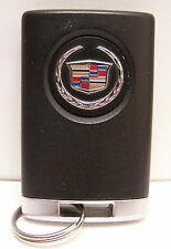 Gently Used Cadillac 4 Button Smart Key Remote Keyless Entry Fob #2