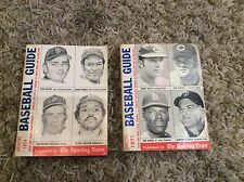 Lot Of 2 The Sporting News Official Baseball Guide. Nice shape 1971 & 1974