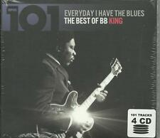 B.B. King - Everyday I Have the Blues ( Best of CD 2013 ) NEW / SEALED 4 CD Set