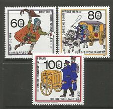 Berlin. 1989. Humanitarian Relief Funds Set. Sg: B831/33. Mint Never Hinged.