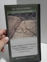 Great Authors of Western Literary Tradition 2nd Ed Part VII 7 Great Courses DVD