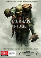 Hacksaw Ridge (DVD, 2017) Region 4