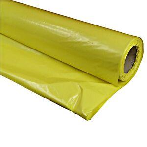 2x50m 3x33m Gelbe PE FOLIE Dampfbremse Dampfsperre Dampfbremsfolie Dachfolie