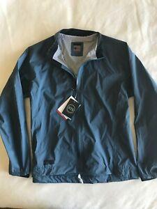 $179 Bontrager mens Velocis Stormshell Rain Jacket size XL and Battleship Blue