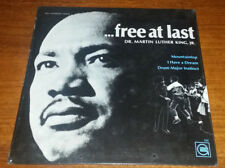 """1968 Mint Record """"Dr Martin Luther King, Jr Free At Last"""" Factory Sealed LGP929"""