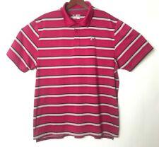Under AmourMens Size 2XL XXL Heatgear Striped Short Sleeve Golf Polo Shirt