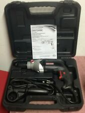 Craftsman ~ 1/2 in. ~ Keyless Corded Drill with Handle ~ 6 A ~ 800 rpm ~ 910116
