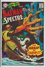 **THE BRAVE AND THE BOLD #75**(JAN 1967 DC)**BATMAN AND SPECTRE**SILVER AGE**FN-