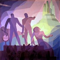 Aspiration Painting by Aaron Douglas Art Reproduction