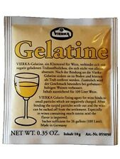 10g Vierka Gelatine Schönungsmittel (Klärmittel) für Saft und Wein
