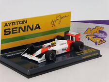 """Minichamps 547884512 # McLaren Honda MP4 """" A. Senna Winner Japanese GP """" 1:43"""