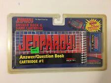 Jeopardy Answer Question Book Cartridge 1 Tiger Electronic New/Sealed Vintage 95