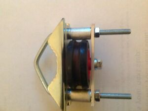 SUPERB EASY FIT MAST HEAD PULLEY FOR UPTO 2 INCH MASTS-TAKES 4-5mm Rope-SEE LIST