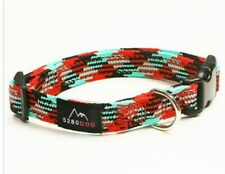 New listing 5280 Dog red Nylon Braided Collar, small By: 5280 Dog