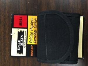 8844-1 Uncle Mike's Folding Handgun Cartridge Carrier, Nylon