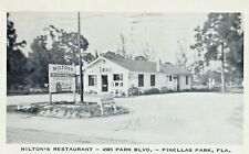 Hilton's Restaurant in Pinellas Park FL 1956