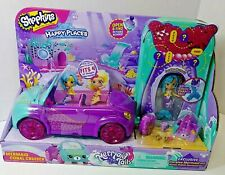 Happy Places Shopkins Mermaid Coral Cruiser Coralee Picnic Petkin Accessories