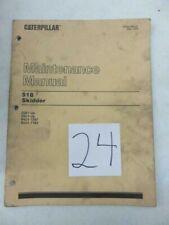 Cat 518 Skidder Maintenance Manual