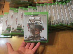 Call of Duty Black Ops: Cold War XBOX ONE COMPATIBLE XBOX SERIES X NEW SEALED