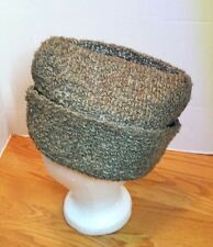 Olive Green Garrison Envelope Hat Cap Quilted Unisex Fitted