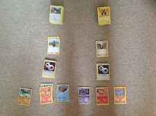 116 pokemon cards, includes energys, trainers, rare cards
