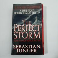 The Perfect Storm by Sebastian Junger Paperback True Story