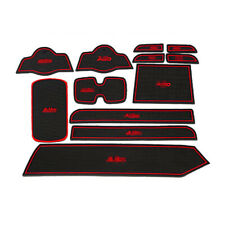 For Suzuki Alto 09-2015 Car interior Anti-Slip Mat Auto Cup Holder Gate Slot Pad