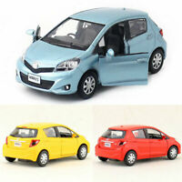 Toyota Yaris 1:36 Scale Model Car Metal Diecast Gift Toy Vehicle Kids Collection