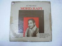 MOHD RAFI AT HIS BEST umeed/purani pehchan/chirag 1983 RARE LP bollywood EX