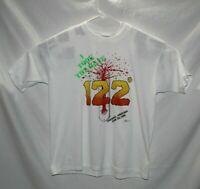 I Took the Heat 122 Degree Thermometer Phoenix AZ 1990 Single Stich Shirt XL
