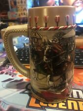 Budweiser Stein featuring Clydesdale horses