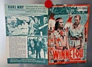 Filmplakat Winnetou Karl May - Original Filmposter, Werbeplakat D1.5