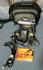 Sony Handycam DCR-DVD305 Camcorder Optical Zoom Bundle Surround Sound Recording