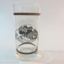 Southern  Comfort  Highball Glass Tumbler Label Gold Trim Whiskey Bourbon
