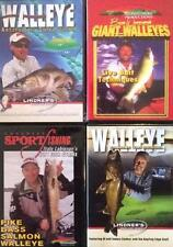 Walleye Fishing Patterns Finding Strategies Tips Why Fish Strike 4 DVD Lot NEW