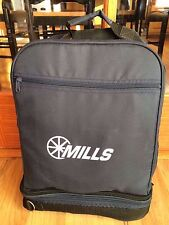 New listing Mills Ford Automotive Picnic Set In A Backpack - Silverware, Wine Glasses & More