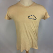 Vintage 70s Spring Mill State Park Mitchell Indiana Hanes Orange Tag T Shirt