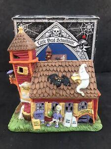 Midwest Creepy Hollow Little Dead Schoolhouse Porcelain Eerie Estates Halloween