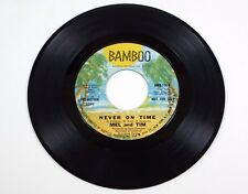 MEL & TIM ~ We've Got The Groove To Move You / Never On Time - Bamboo Promo 116