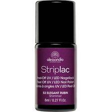 Striplac Peel Off UV LED Nail Polish - Elegant Rubin 8ml (53)
