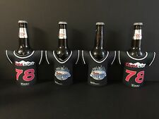 Coors Light Beer Bottle Koozie Classic Jersey 78 Logo ~ Set Of Four/4 NEW & F/S