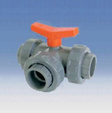 PVC Kugelhahn  32mm mit 2 Klebemuffen bis 8Bar TOP Qualität