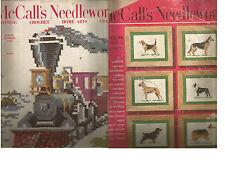 Vintage McCalls Needlework & Crafts Magazine-2 Issues -1952-53